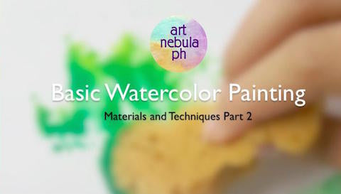 Basic Watercolor Painting (Part 2)