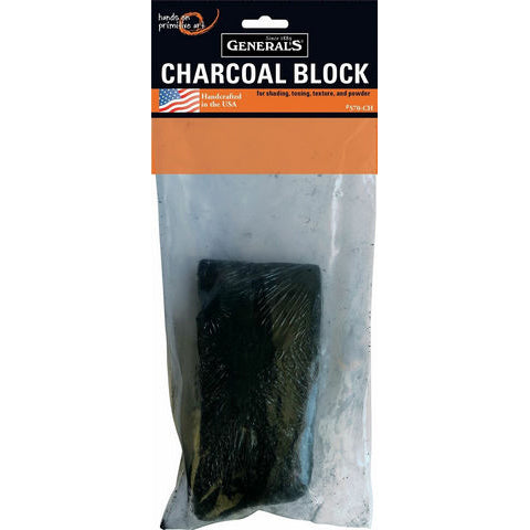 General Pencil Charcoal Block - Small
