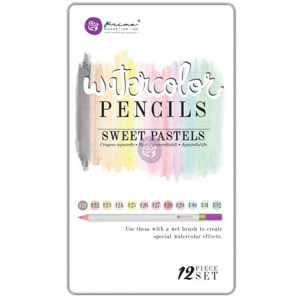 Prima Watercolor Pencils 12 Color Sets