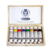 Schmincke Horadam Gouache Wooden Set 8 Tubes x 15ml - Art Nebula