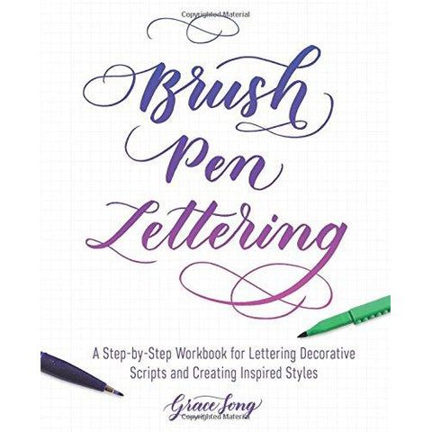 Brush Pen Lettering Format: Trade Paper - Art Nebula