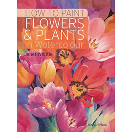 How to Paint Flowers & Plants in Watercolour - Art Nebula