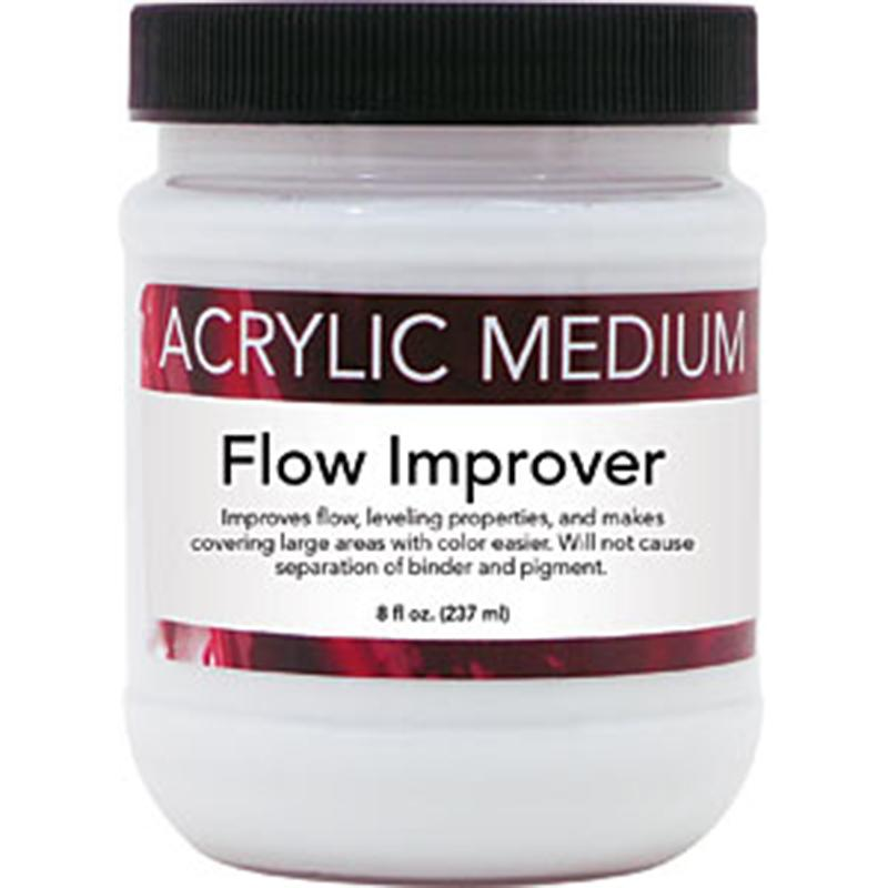 Art Advantage 8 oz. Acrylic Flow Improver Mediums & Finishes Art Nebula