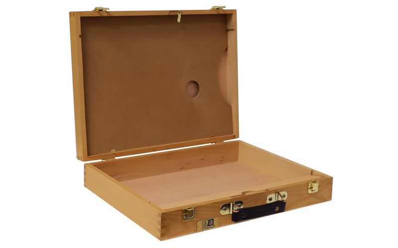 "Art Advantage Wood Art Box 15 1⁄2 x 3 1⁄4 x11 3⁄4"" Medium Art Bags & Storage Art Nebula"