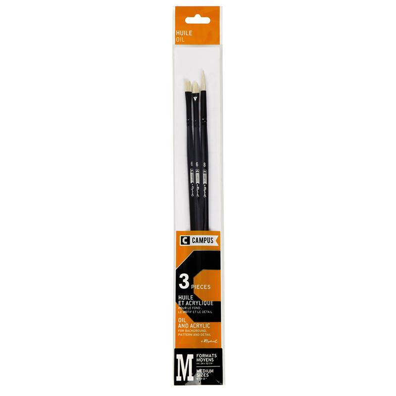 Campus Oil Brush Set by Raphael Oil Painting Brush Art Nebula