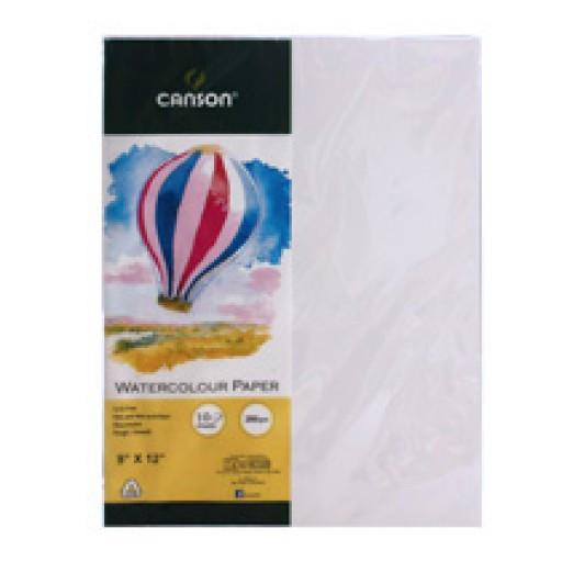 Canson 10-sheet Watercolor Balloon Pack Watercolor Sheets & Rolls Art Nebula