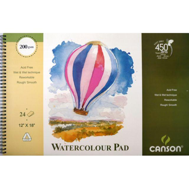 Canson Balloon Watercolour Pad - 200gsm Watercolor Pads & Blocks Art Nebula