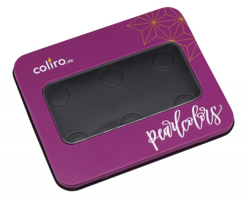 Coliro (by Finetec GmbH) Empty Metal Box for 6 Colors Coliro Cases Art Nebula