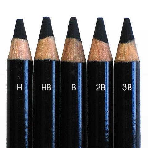 Conté Pierre Noire Pencils (3B, 2B, B, HB) Sketching & Drawing Pencils Art Nebula