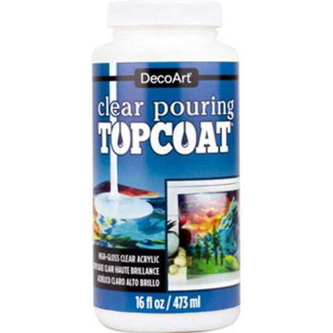 DecoArt® Clear Pouring Topcoat 8oz Mediums & Finishes Art Nebula