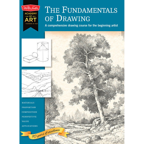 Walter Foster Fundamentals of Drawing Academy of Art Book - Art Nebula