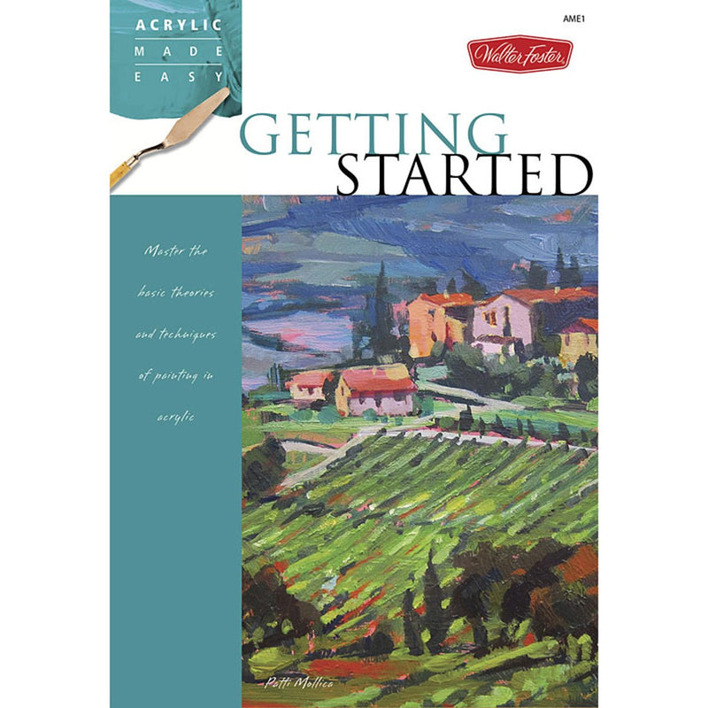 Getting Started Acrylic Made Easy Book Books Art Nebula