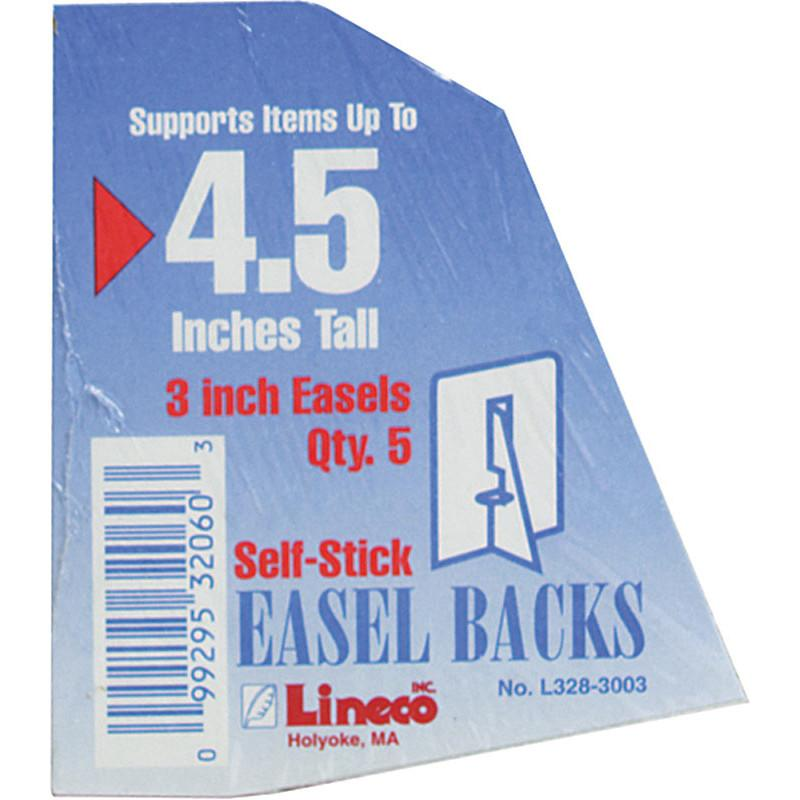 Lineco Self Stick Easel Pack 5 pcs Framing Tools Art Nebula