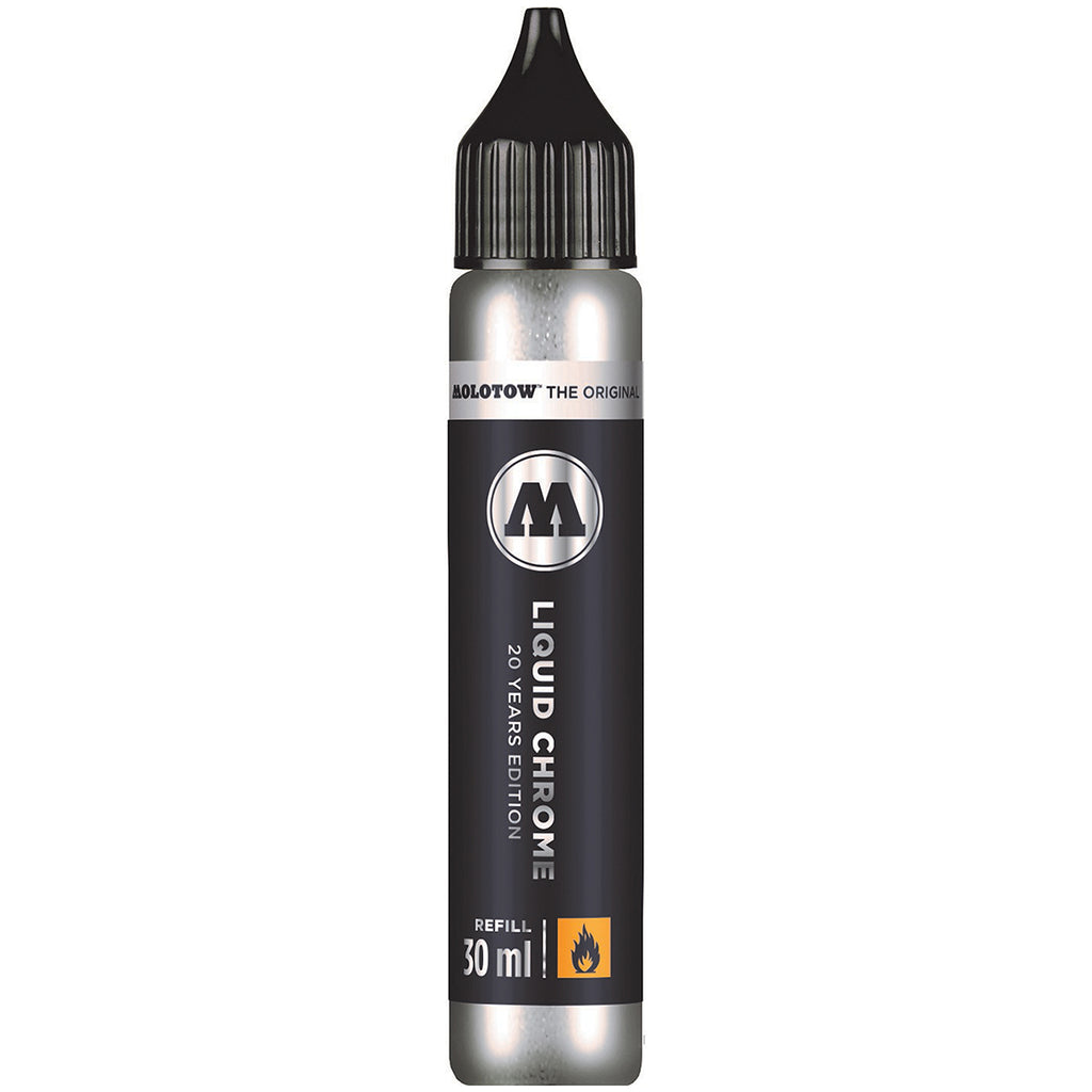 Molotow 30 ml Liquid Chrome Marker Refill - Art Nebula
