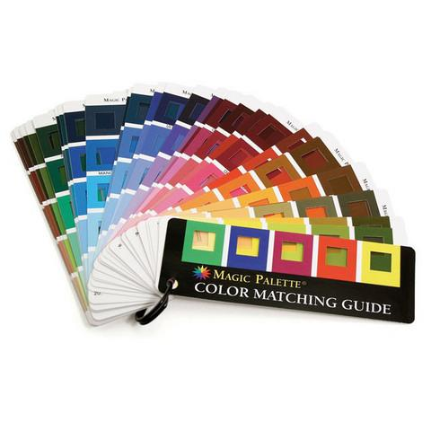 Magic Palette® Color Matching Guide Color Wheels & Guides Art Nebula