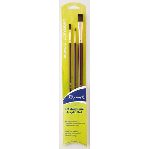 Raphael Acrylic Sepia Brush Studio Set - Art Nebula