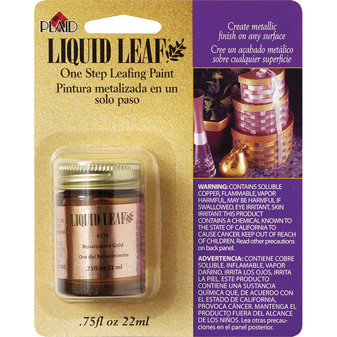 Plaid Enterprises Classic 3/4 oz.  Liquid Leaf (each) - Art Nebula