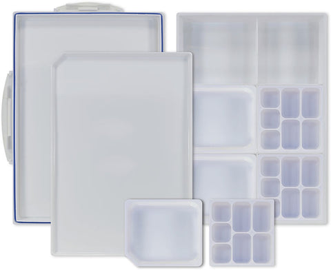 Pro Art Heavy Duty Plastic Palette with Airtight Sealing Lid