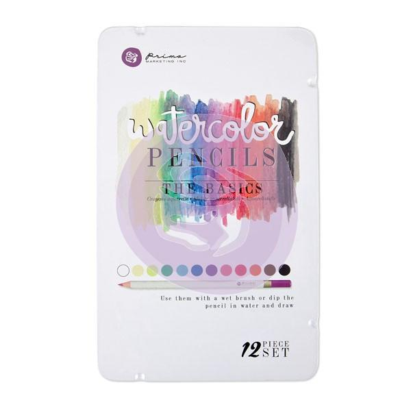 Prima Watercolor Pencils 12 Color Sets Watercolor Pencils Art Nebula