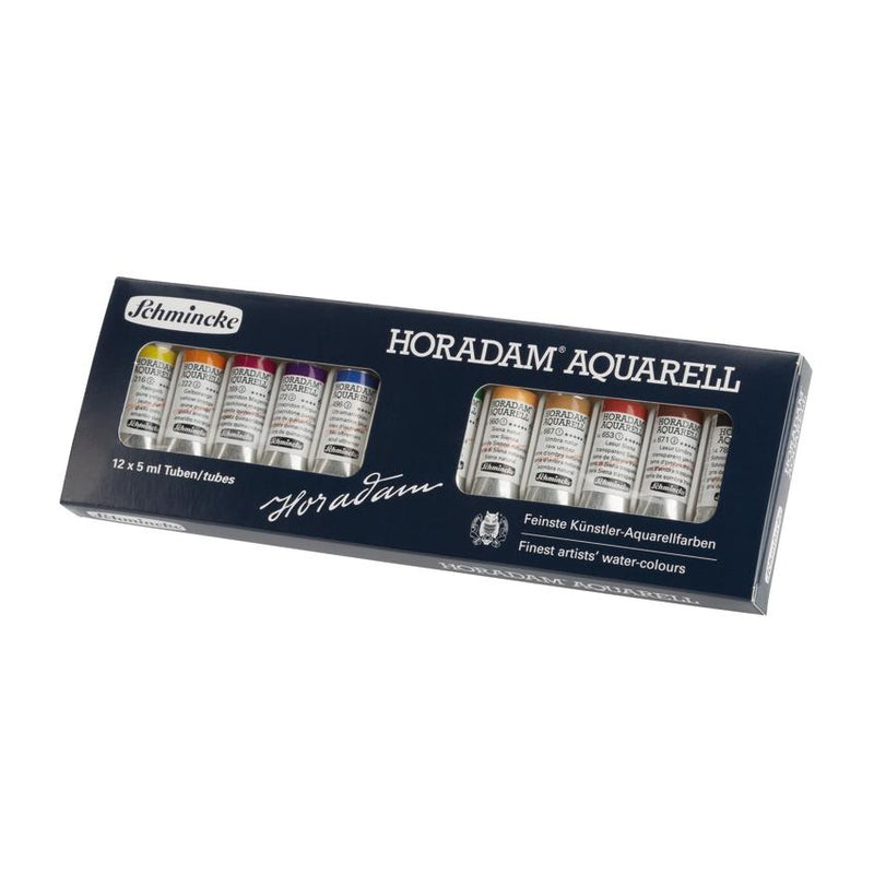 Schmincke Horadam Watercolor Special Box - 12 x 5ml Tubes (Limited Edition) Watercolor Paint Art Nebula
