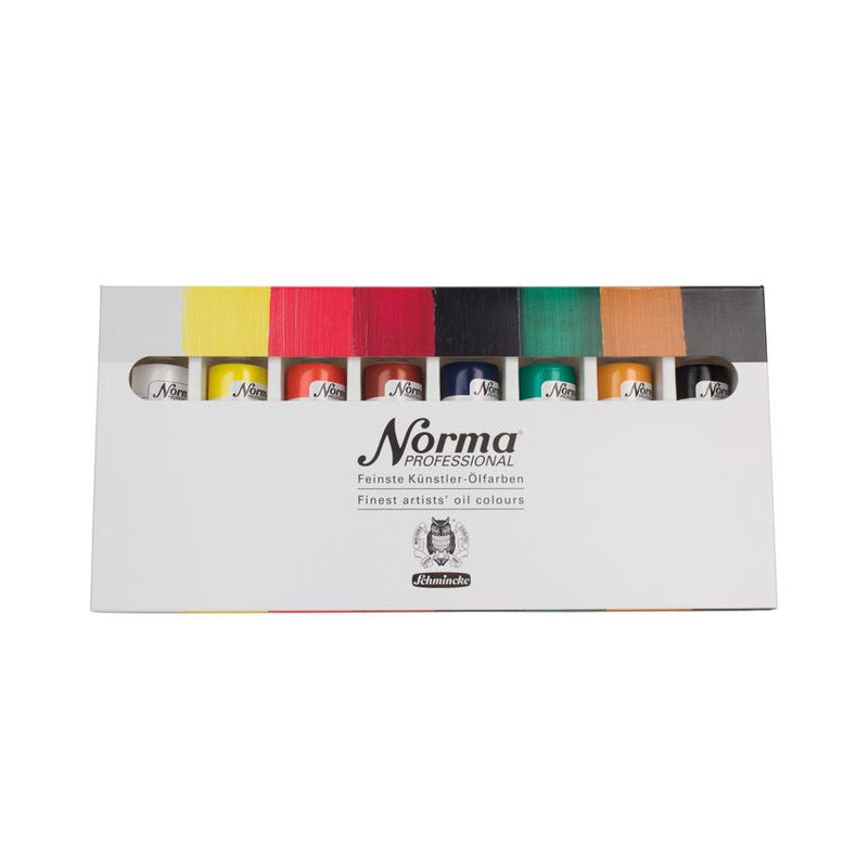 Schmincke Norma Professional Finest Artists' Oil Colors 8 color 60ml tubes Oil Paint Art Nebula