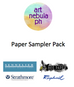 Art Nebula Paper Sampler Pack - Art Nebula