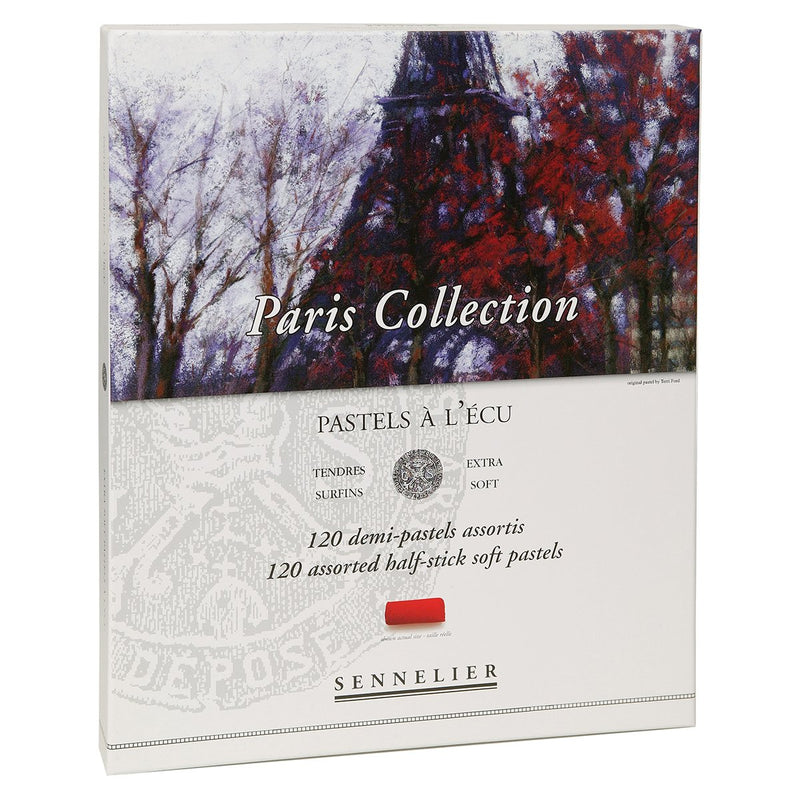 Sennelier Extra Soft Pastels 120 Half Stick - Paris Collection Set Pastels & Chalks Art Nebula