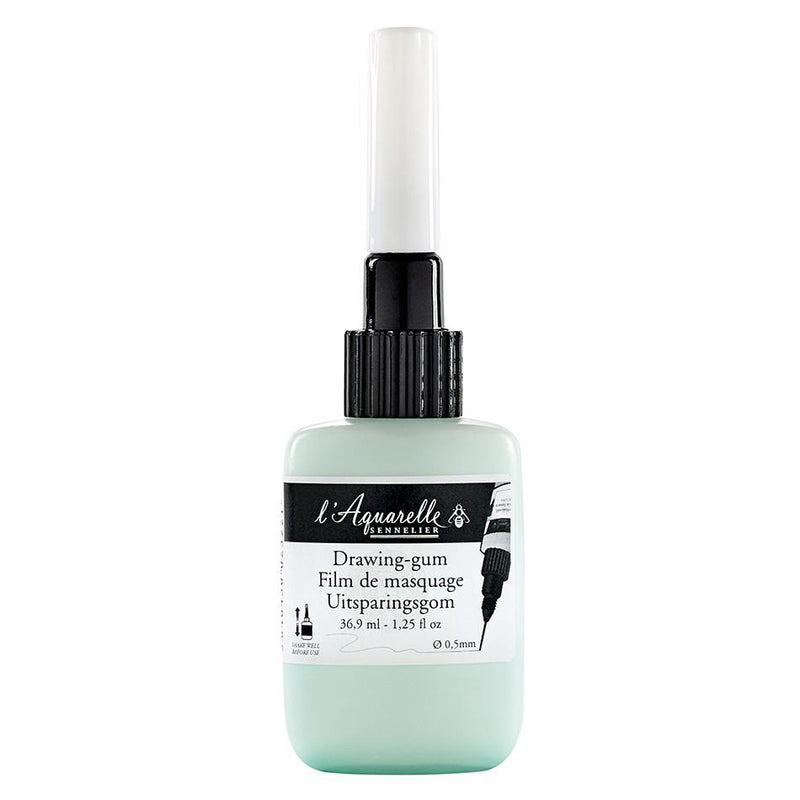 Sennelier Liquid Drawing Gum (Masking Fluid) - with applicator - 36.9ml Masking Fluid & Frisket Art Nebula
