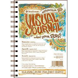 Strathmore  Watercolor Visual Journal 140 lb. Sketchbooks & Journals Art Nebula