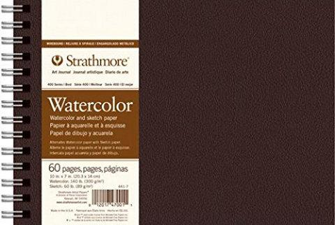 "Strathmore Artist Papers 400 Series Field Watercolor Cold Press - 10""x7"" Sketchbooks & Journals Art Nebula"