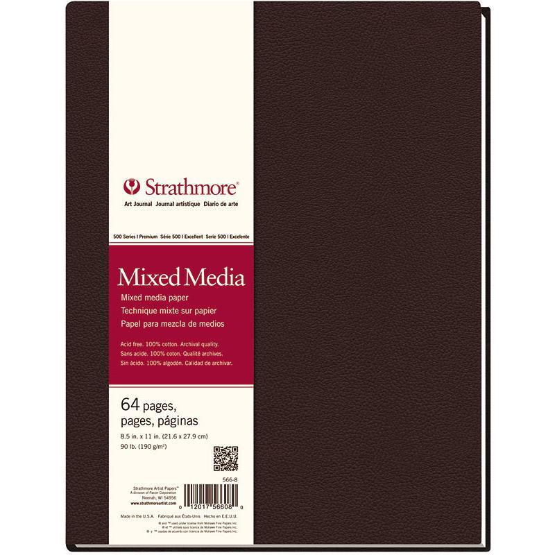 Strathmore Artist Papers Mixed Media Art Journal 64 Page Hardbound Book - 190 gsm Sketchbooks & Journals Art Nebula