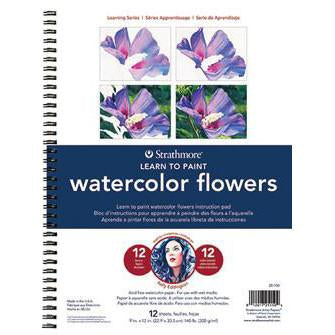 "Strathmore Watercolor Learning Series Pad -  Artist Papers 9"" x 12"" Books Art Nebula"