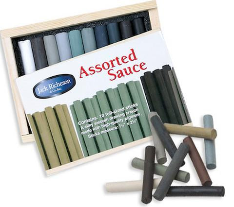 Yarka Sauce Drawing Pastel Sticks by Richeson Pastels & Chalks Art Nebula