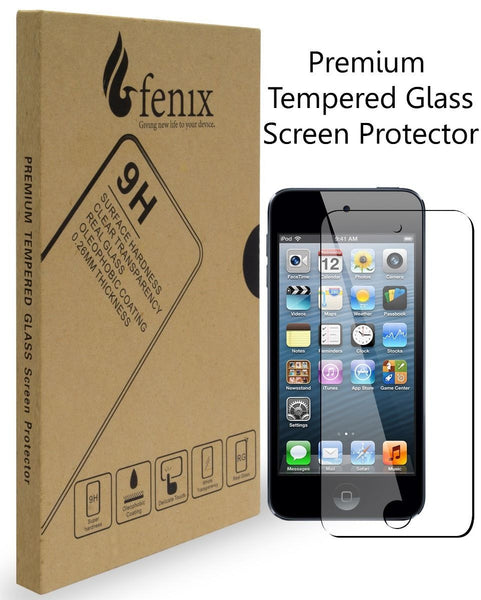 iPod Touch 5, 9-H Premium Tempered High-Definition Glass Screen Protector - BastexShop