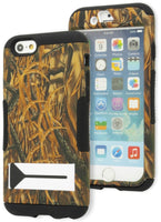"iPhone 6, 4.7"", Black Cover Grass Camo Design Kickstand Case - BastexShop"