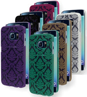 Samsung Galaxy S6 Edge Damask Design Snap On Case Cover - BastexShop