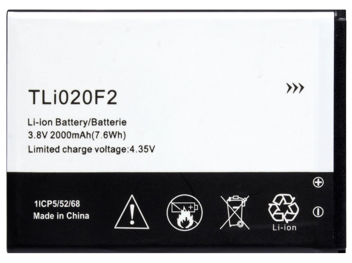 Replacement Battery Alcatel One Touch Fierce 2 D7040