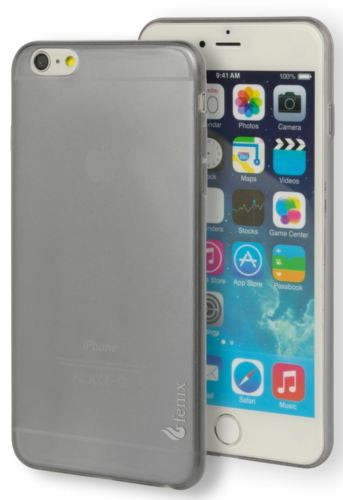 "iPhone 6 Plus, 5.5"",   Tough Armor Smoke Gray Gel Case Cover - BastexShop"