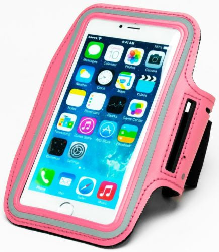"Pink Runners Armband Case with Key Holder  iPhone 6 Plus, 5.5"" - BastexShop"