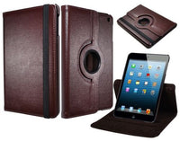 Brown PU Leather Portfolio Flip Case Cover  iPad Mini - BastexShop