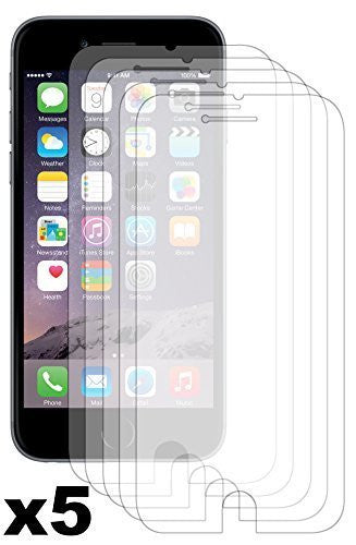 "iPhone 6, 4.7"" Antiglare Reflective Matte Screen Protector - 5 Pack - BastexShop"
