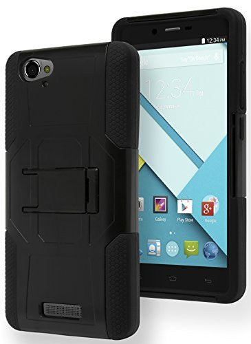BLU Studio Energy D810L,    Durable Black Silicone Cover W - BastexShop