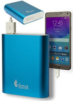 6000mAh USB External Power Bank (Blue) - BastexShop
