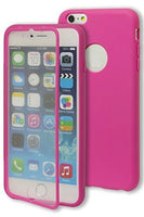 "iPhone 6 Plus, 5.5""   Durable Protective Hot Pink TPU Case Cover - BastexShop"