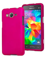 Galaxy Grand Prime,    Hot Pink Rubberized Snap On Case - BastexShop