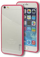 "iPhone 6 Plus 5.5"" Full-Body Protection   Pink Rubberized TPU Case - BastexShop"