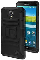 Hybrid Black Case for Samsung Galaxy Mega 2 - BastexShop