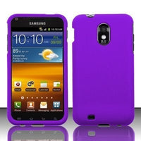 Samsung Epic Touch 4G D710 & Galaxy S2 Sprint Rubberized Purple Case - BastexShop