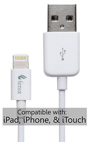 Fenix White 3 Foot Lightning Cable - BastexShop