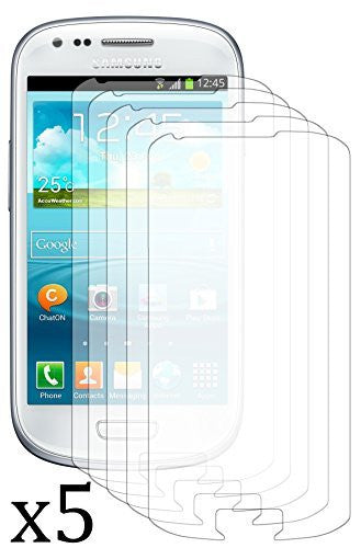Antiglare Reflective Matte Screen Protector  Samsung Galaxy S3 Mini - 5 pack - BastexShop